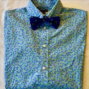 Tommy Hilfiger Long Sleeve Shirt & Bow Tie Size 20